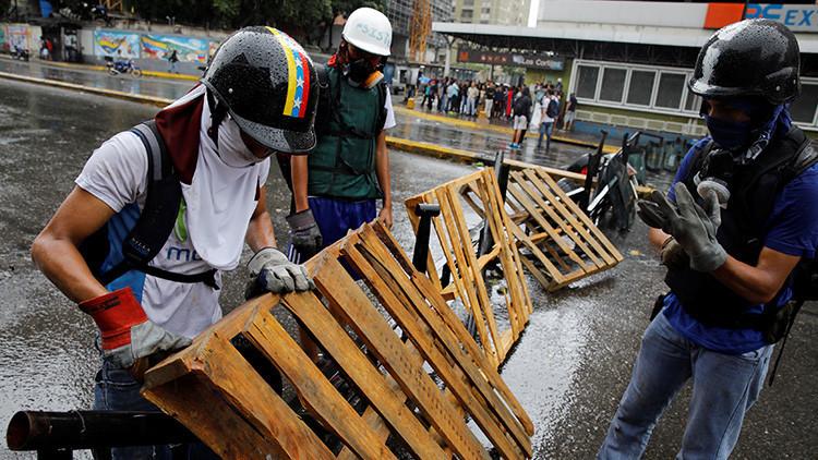"""La oposición venezolana amenaza con """"tomar Caracas"""" a tres días de la elección Constituyente"""