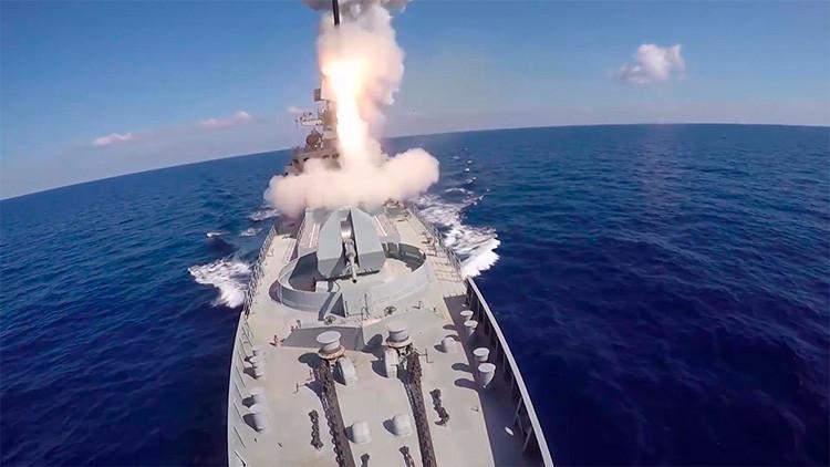 La Marina de Guerra rusa incorpora más de 60 misiles de crucero en tres meses
