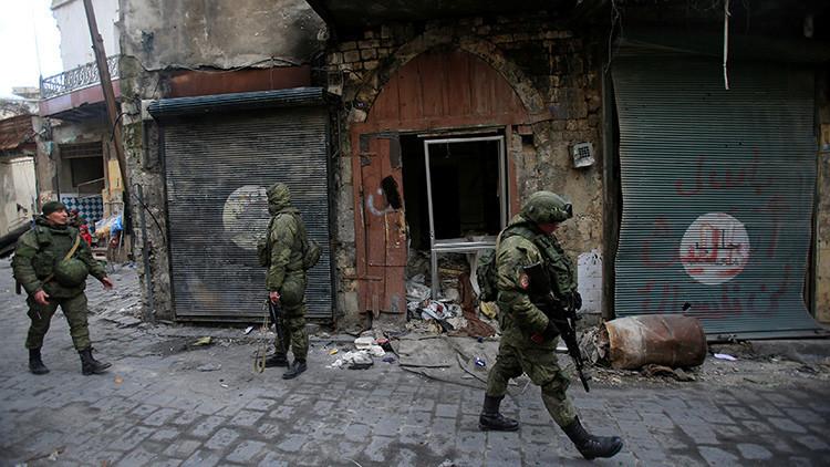 Moscú precisa cuántas tropas rusas operan en las zonas de disminución de tensiones en Siria