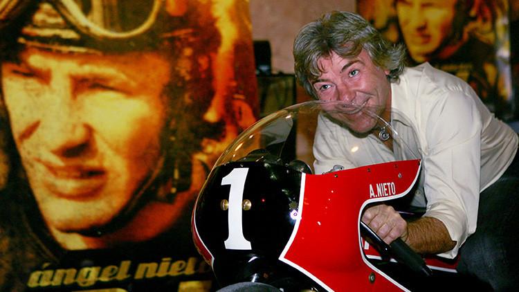 El exmotociclista español Ángel Nieto, muy grave tras sufrir un accidente en Ibiza