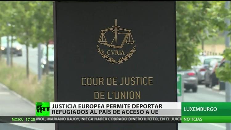 La Justicia europea permite deportar refugiados al país por el que accedieron a la UE