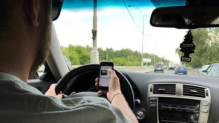 EE.UU.: Un 'mensajímetro' para detectar a los infractores que usen el celular al volante