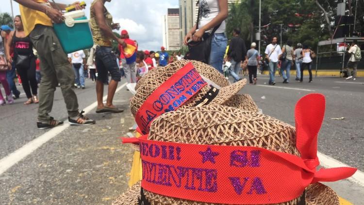 Venezuela: Maduro espera gran victoria, pese a rechazo de 72%