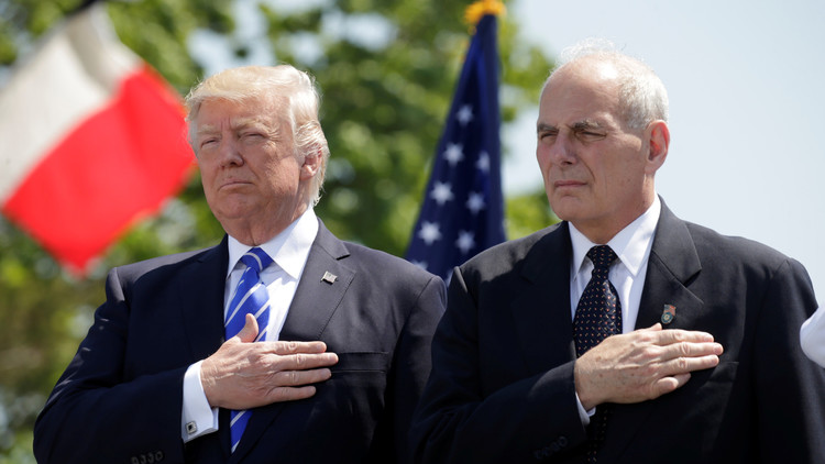 Trump nombra como jefe de Gabinete a su asesor de seguridad, John Kelly