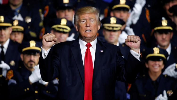 """Trump promete tomar """"todas las medidas necesarias"""" para proteger a EE.UU. de la amenaza norcoreana"""