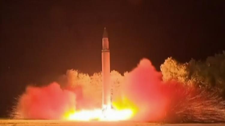 PRIMERAS IMÁGENES: El lanzamiento del misil balístico intercontinental de Corea del Norte