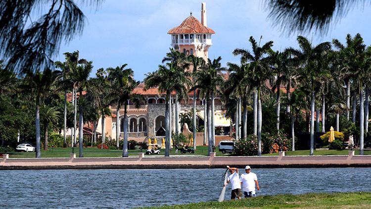 La seguridad del club Mar-a-Lago de Trump le cuesta 6,6 millones de dólares a los contribuyentes
