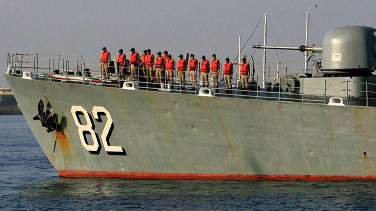 Irán acusa a Armada de EEUU de