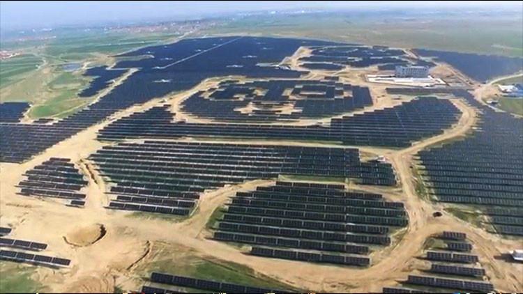 China planea construir 100 plantas solares con forma de panda en la nueva Ruta de la Seda (VIDEO)
