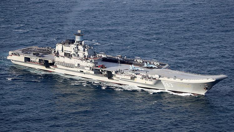 Rusia anuncia la construcción de seis nuevos portaviones