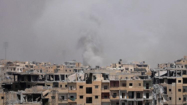 Último reportaje del corresponsal de RT fallecido: Sirios condenan los bombardeos de la coalición