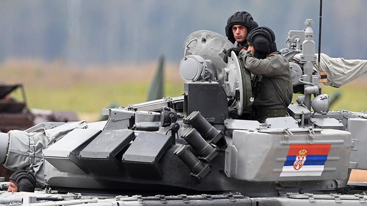 Rusia desclasifica los secretos de su tanque más blindado en una competición internacional