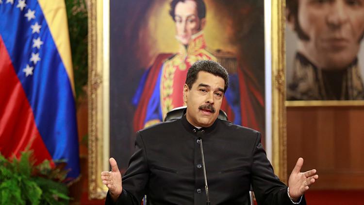 EE.UU. introduce sanciones contra Nicolás Maduro