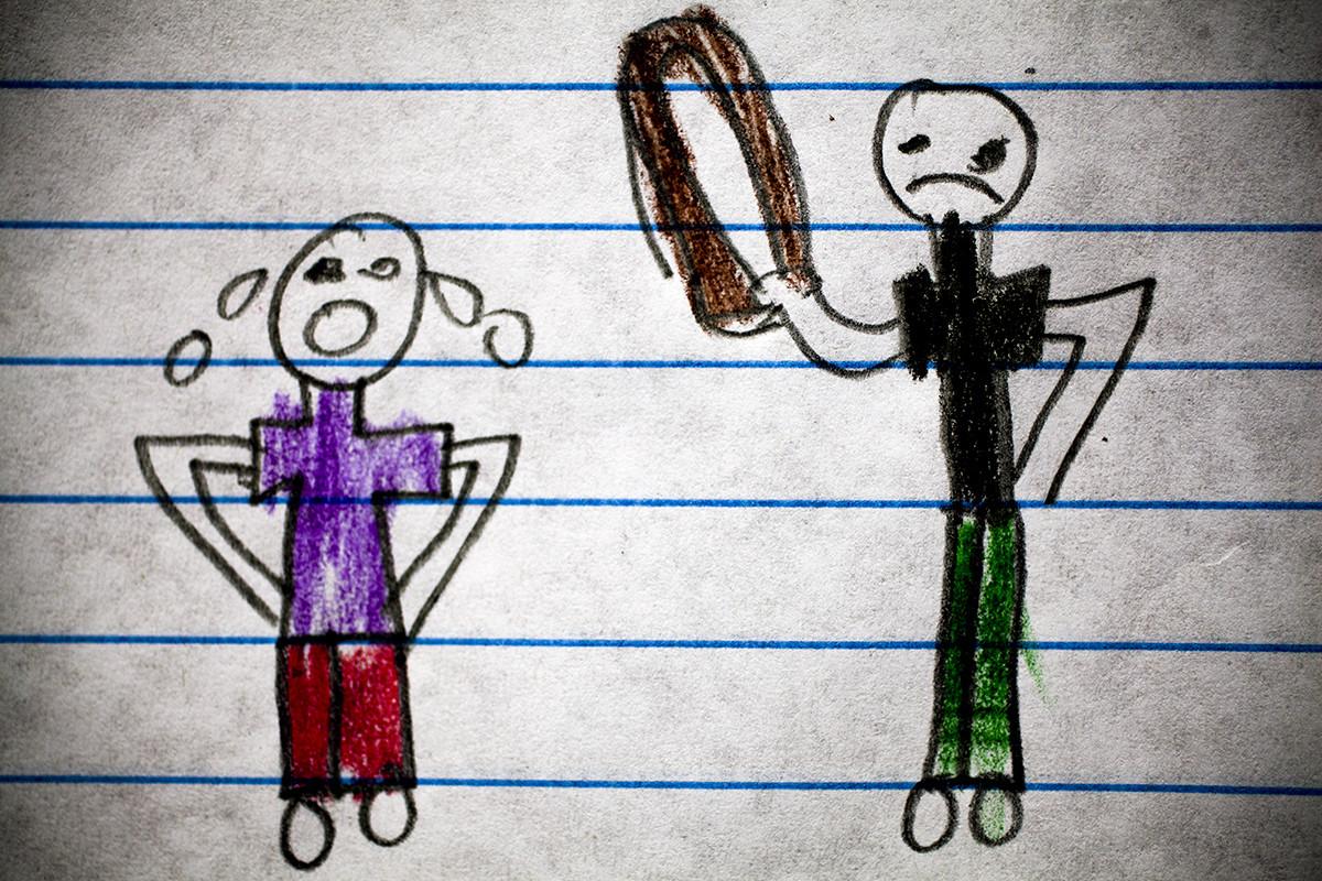 Coloreando el horror los dibujos de nios de Guatemala que