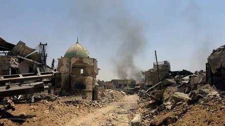 Ruinas de la ciudad de Mosul, 30 de junio de 2017.