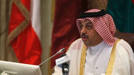 El ministro de Defensa catarí, Jalid al Attiya