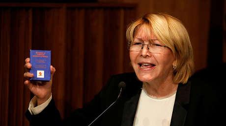 La fiscal general de Venezuela, Luisa Ortega Díaz.
