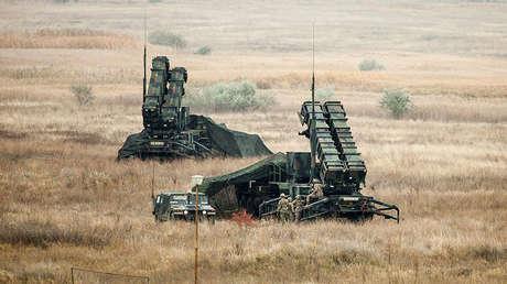 Foto de archivo: el sistema Patriot estadounidense en Romania
