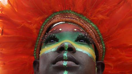 El Carnaval Infantil de la Cruz Roja en Puerto España, Trinidad y Tobago