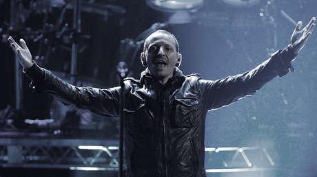 Chester Bennington en la edición N.°40 de los American Music Awards en California, EE.UU. Noviembre 18, 2012.