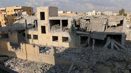 Raqa, Siria (fotografía de archivo).