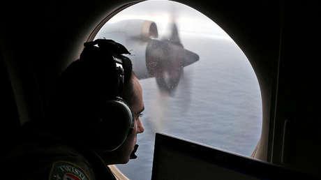 La Real Fuerza Aérea Australiana en la búsqueda del MH370. 22 de marzo de 2014.