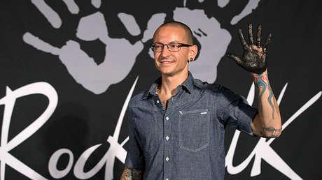 El vocalista de Linkin Park, Chester Bennington, en Los Ángeles, California (EE.UU.), el 18 de julio de 2014.