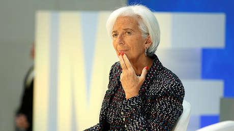 La directora gerente del Fondo Monetario Internacional (FMI), Christine Lagarde, en Washington, EE.UU., el 19 de abril de 2017.