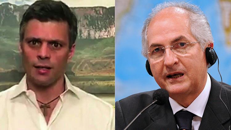 Informan de la detención de los opositores Leopoldo López y Antonio Ledezma en Venezuela
