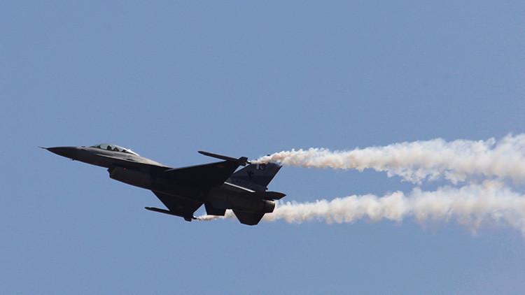 EE.UU. despliega 12 cazas F-16 en Corea del Sur tras el último lanzamiento de un misil norcoreano