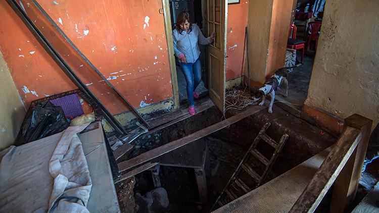 Una mujer destruye la casa de una vecina buscando un tesoro escondido (FOTOS)