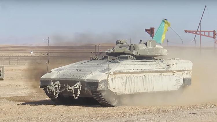 Israel revela la versión mejorada de su blindado Namer, equipado para la guerra urbana (VIDEO)