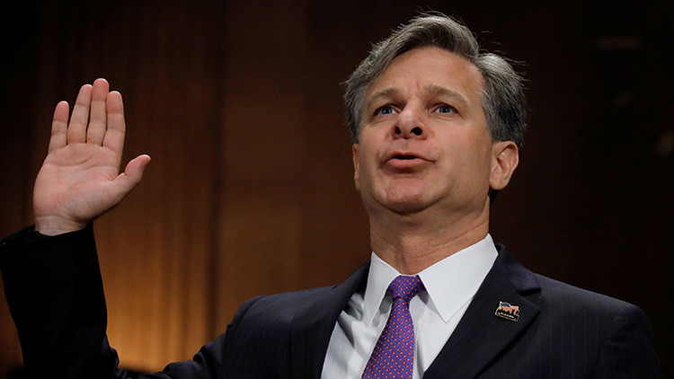 El Senado de EE.UU. confirma a Wray como nuevo director del FBI