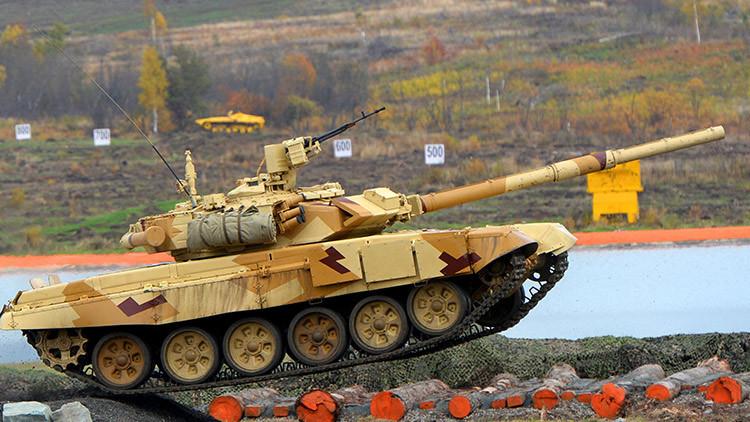 FOTO: El Ejército sirio usa en combate el arma cegadora del tanque T-90
