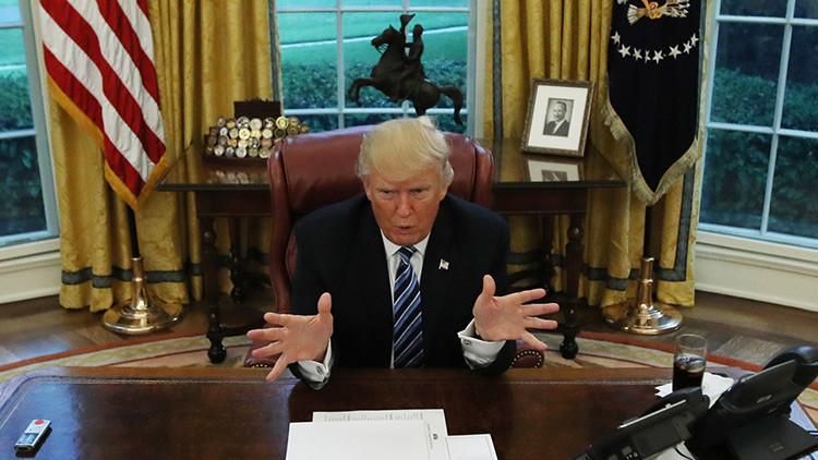 Trump firma la ley sobre las sanciones a Rusia