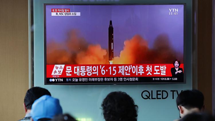 La ubicación inesperada del último lanzamiento del misil norcoreano alarma a EE.UU. y China