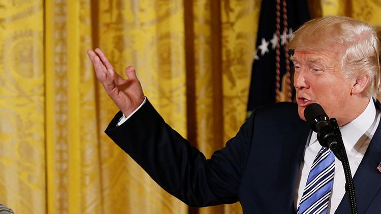 """Trump: Agradezcan al Congreso nuestra """"muy peligrosa relación"""" con Rusia"""