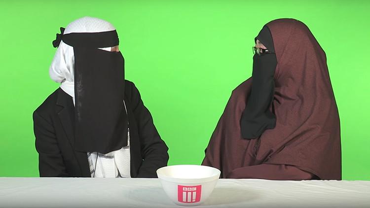 """Arden las redes: acusan a la BBC de legitimar el uso de la burka en un video de """"propaganda"""" (VIDEO)"""