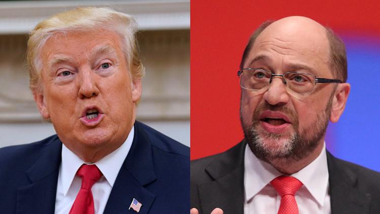 """Candidato a canciller de Alemania: """"Trump es un peligro para EE.UU. y para el mundo entero"""""""