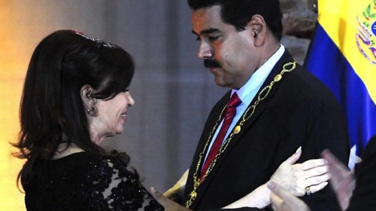 Macri retira orden del General San Martín a Maduro