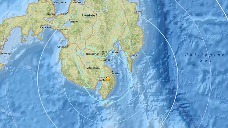 Un terremoto de magnitud 5,8 sacude Filipinas