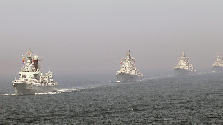 China cierra para la navegación civil parte del mar Amarillo por ejercicios militares