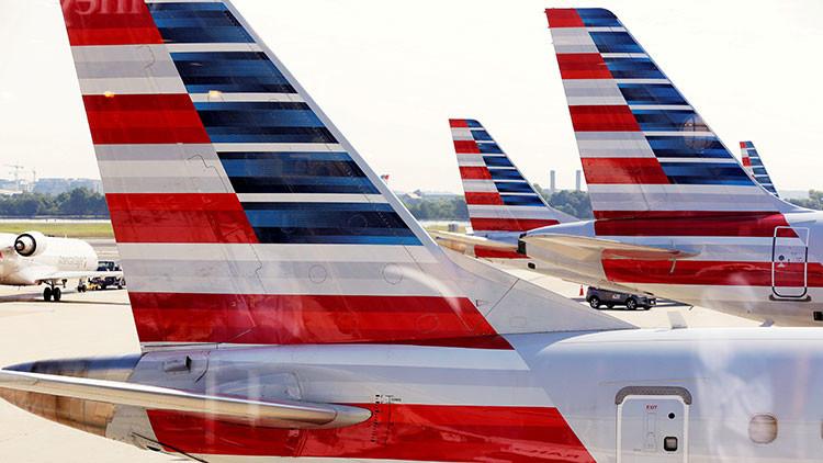 Diez heridos en un vuelo de American Airlines por una fuerte turbulencia