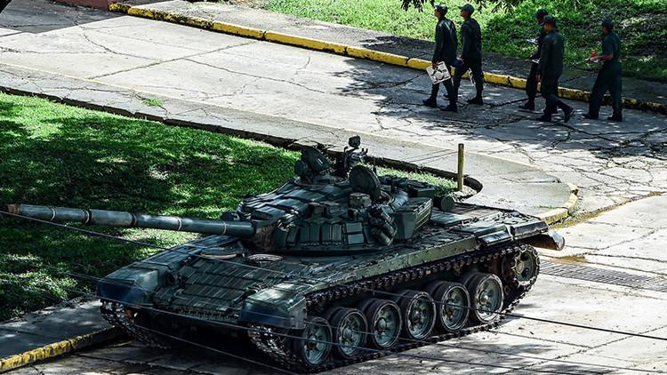 """VIDEO: Primeras imágenes desde la base militar venezolana que sufrió un """"ataque terrorista"""""""