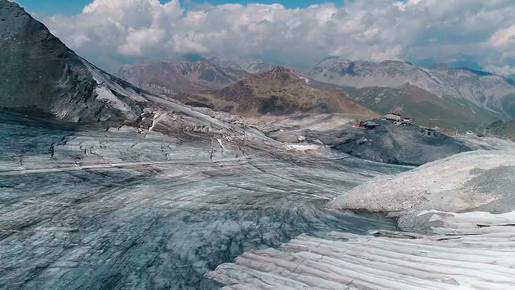 VIDEO: Así es el efecto dramático de 'Lucifer' en los Alpes
