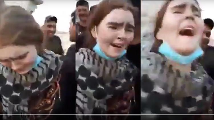 VIDEO: Así capturaron soldados iraquíes a una adolescente alemana que se unió al EI