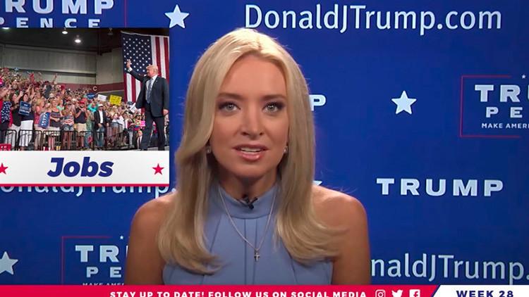 Trump dice que EPN le llamó para reconocer su política migratoria
