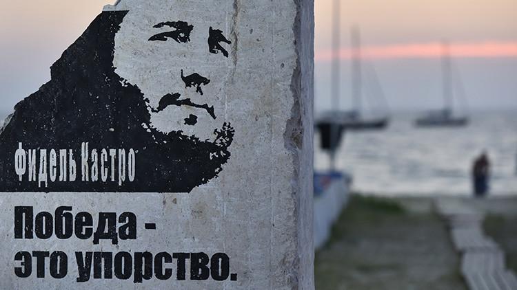 VIDEO, FOTOS: Construyen un monumento a Fidel Castro en Crimea
