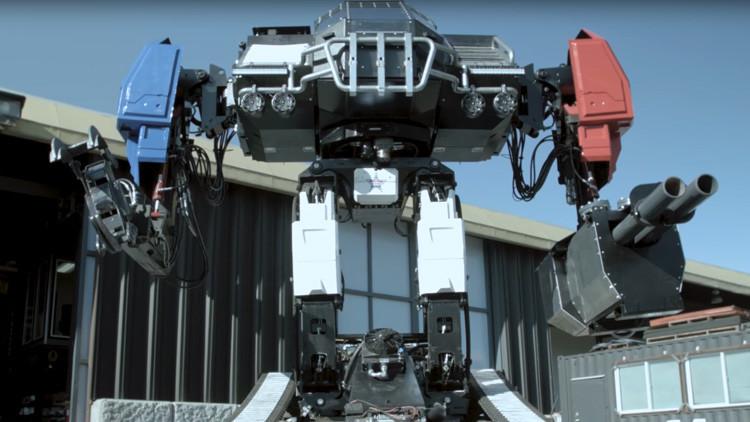 VIDEO: El temible robot de combate de 12 toneladas de EE.UU., listo para su primera pelea robótica