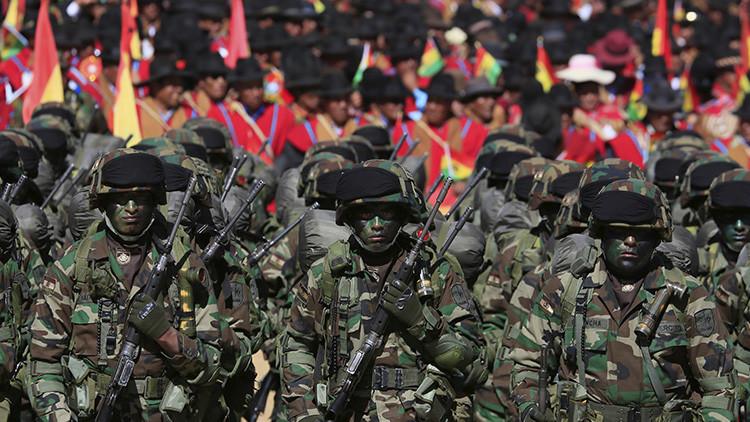 VIDEO: Bolivia muestra lo mejor de sus Fuerzas Armadas en un gran desfile
